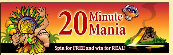 20 minutes mania free spins at big kahuna slot